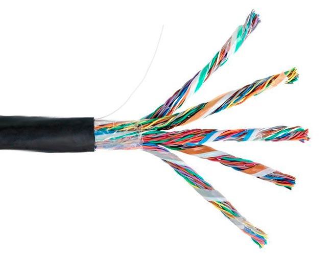 что значит - кабель витая пара