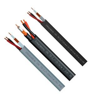 кабель (РК 75-3,7-35ф + 2xS) PVC, (РК 75-3,7-36ф + 2xS) PE, (РК 75-3,7-331фнг(С)-HF + 2×S) нг(С)-HF